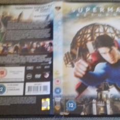 Superman Returns - DVD [B] - Film actiune, Engleza