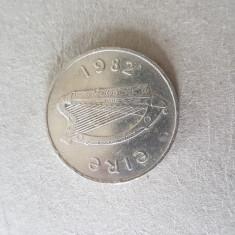 S339 IRLANDA 10 PENCE 1982, Europa