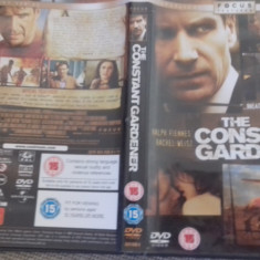 The constant gardener - DVD [B] - Film drama, Engleza