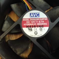 Ventilator PC AVC 80 mm (13427) - Cooler PC, Pentru carcase