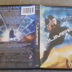 Jumper - DVD [B] - Film actiune, Engleza