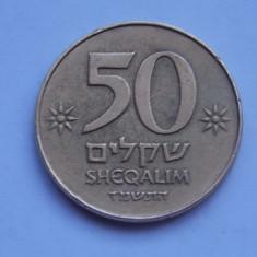 50 SHEQALIM ISRAEL, Europa