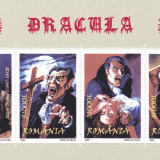 DRACULA,CONGRES UPU 2004,BLOC,MNH,ROMANIA., Istorie, Nestampilat