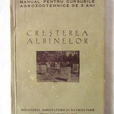 CRESTEREA ALBINELOR. Manual pentru cursurile agrozootehnice de 3 ani, 1957, Alta editura