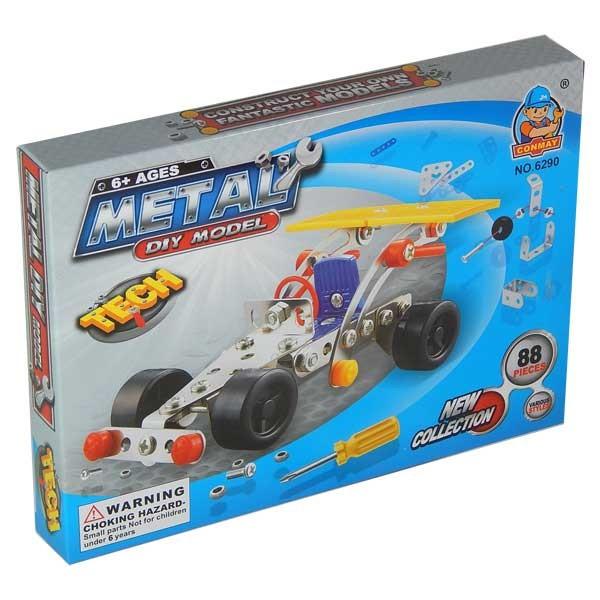 Set constructii metalice - Masina de curse foto mare