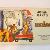 JUCARII, de AGNITA BARTO, Editura Ion Creanga 1983, BUCURESTI, - Carte de povesti