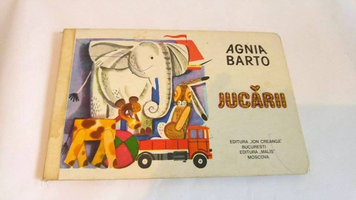 JUCARII, de AGNITA BARTO, Editura Ion Creanga 1983, BUCURESTI, foto mare