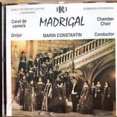 Corul De Camera Madrigal (editia limitata Eximbank) (1 CD) - Muzica Corala Altele