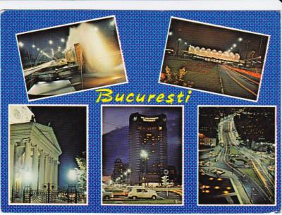 CARTE POSTALA , BUCURESTI , 1986 foto