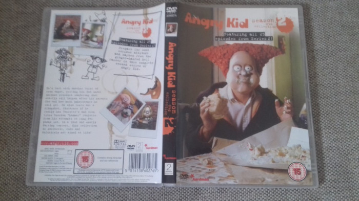 Angry Kid - Season 2 - 25 Ep - DVD [B] foto mare