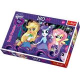 Puzzle 160 pcs My little pony Equestria Girl la bal 15311 Trefl