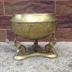 Fructiera/Bomboniera din bronz masiv !!! - Metal/Fonta
