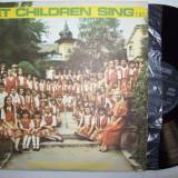Disc vinil LET CHILDREN SING (2)- Sa cante copii (ST - EXE 03241) - Muzica pentru copii electrecord
