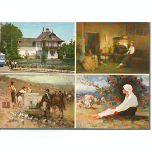 CPI (B8997) CARTE POSTALA - CAMPINA, CASA MEMORIALA N. GRIGORESCU