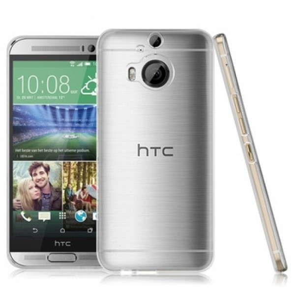 Husa de protectie ultraslim HTC M9 PLUS, transparent foto mare
