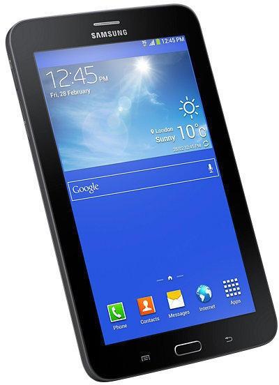 Galaxy Tab 3 Lite T111, 8GB, 3G, Neagra foto mare