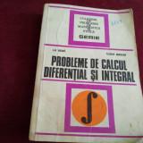 PROBLEME DE CALCUL DIFERENȚIAL ȘI INTEGRAL - LIA ARAMĂ - Carte Matematica