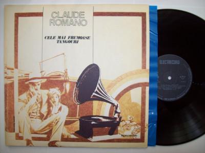 Disc vinil CLAUDE ROMANO - Cele mai frumoase tangouri (EDE 01635) foto
