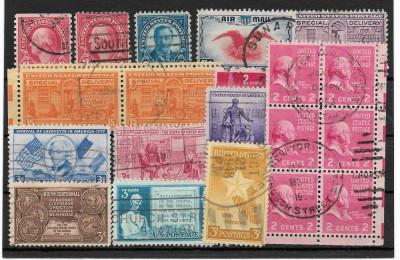 Lot timbre SUA foto