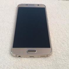 Samsung S6 Gold Platinium Limited Edition 32Gb/ Impecabil - Telefon mobil Samsung Galaxy S6, Auriu, Neblocat