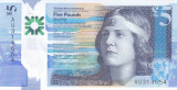 Bancnota Scotia ( Royal Bank ) 5 Pounds 2016 - PNew aUNC ( polimer )