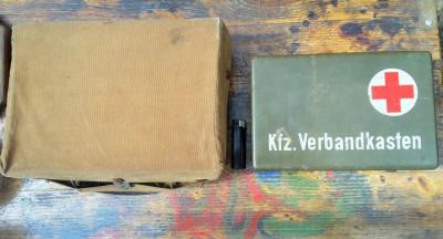2 cutii lazi militare ww2 (?) militaria foto