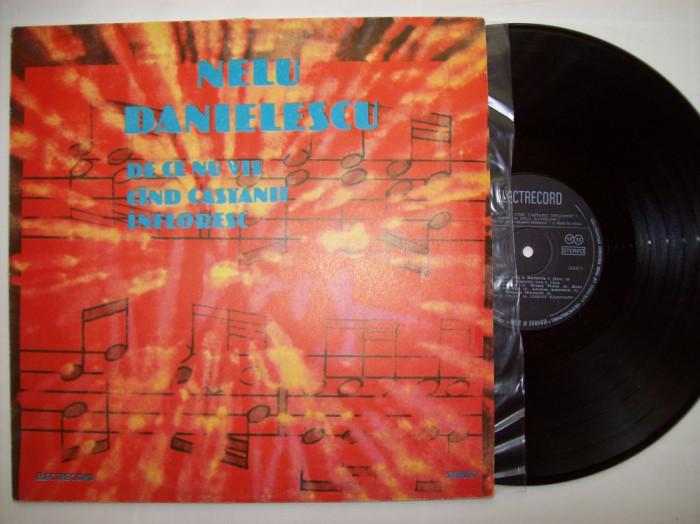 Disc vinil NELU DANIELESCU - De ce nu vii cand castanii infloresc ST - EDE 01837 foto mare