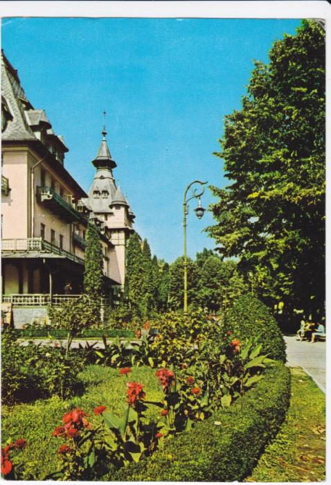 CARTE POSTALA , CALIMANESTI , 1970 foto mare