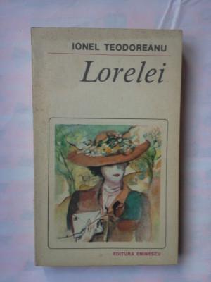 (C347) IONEL TEODOREANU - LORELEI foto