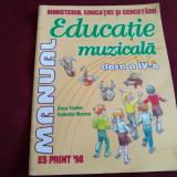 EDUCAȚIE MUZICALĂ CLASA A IV-A - ANCA TOADER, VALENTIN MORARU