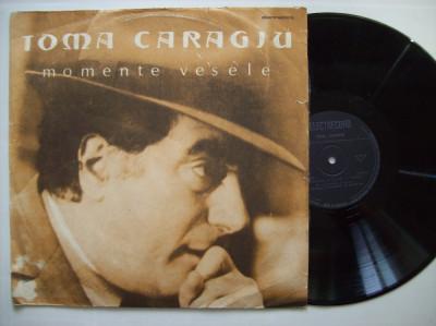 Disc vinil TOMA CARAGIU - Momente vesele (EXE 03697) foto