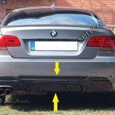 Prelungire difuzor evacuare tuning bara spate BMW E92 E93 320 Mtech Aero v1 - Difuzor bara spate auto
