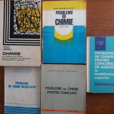 5 carti cu probleme de chimie / R2P4S - Carte Chimie