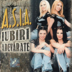 A.S.I.A. - Iubiri Adevarate (1 CD) - Muzica Pop mediapro music