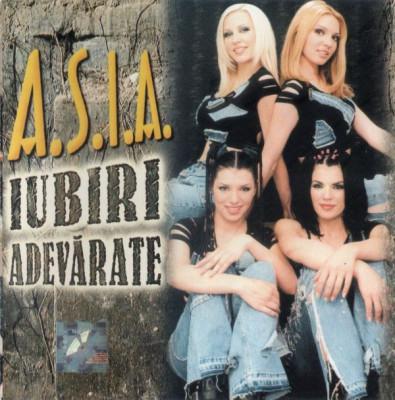 A.S.I.A. - Iubiri Adevarate (1 CD) foto