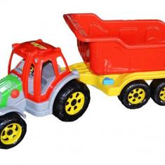 Tractor cu remorca Maxi - Masinuta, Plastic