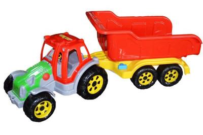 Tractor cu remorca Maxi foto
