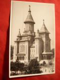 Fotografie - Ilustrata - Catedrala Mitropoliei Banatului,1953 stampila speciala, Necirculata
