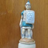 1-SOLDAT ROMAN-miniBIBELOU-praf de marmura, vintage-posibil piesa de sah - Bibelou vechi