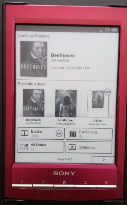 Ebook reader Sony PRS-T1, cu incarcator si huse de calitate foto mare