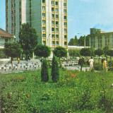 CARTE POSTALA COVASNA HOTEL OJT 1987 - Carte Postala Transilvania dupa 1918, Circulata, Fotografie