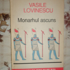 Monahul ascuns 172pagini- Vasile Lovinescu - Carte Filosofie