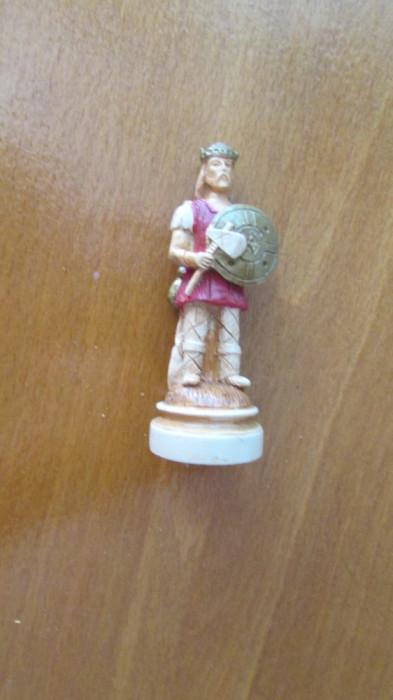 2-SOLDAT ROMAN-miniBIBELOU-praf de marmura,vintage-posibil piesa de sah foto mare