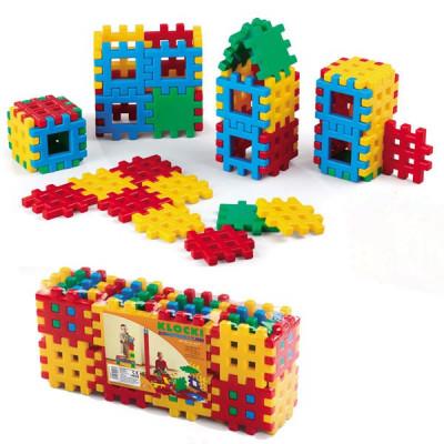 Cuburi de construit tip vafa 48 pcs foto