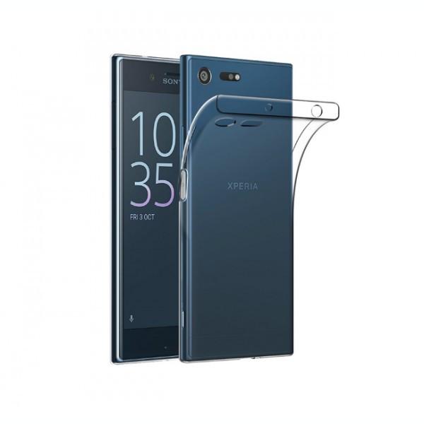 Husa de protectie ultraslim pentru Sony Xperia XZ Premium 2017, transparent foto mare