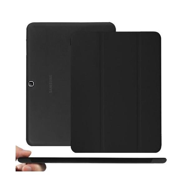 Husa de protectie flip cover SAMSUNG SM-T530/535 Galaxy Tab 4 10.1 inch, black foto mare