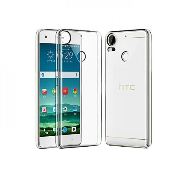Husa de protectie ultraslim pentru HTC Desire 10 Pro, transparent foto mare