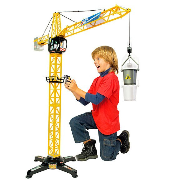 Macara Giant Crane 100 cm cu sunet si telecomanda 3462411 Dickie foto mare
