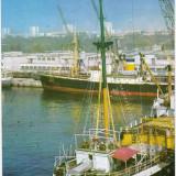 CARTE POSTALA, CONSTANTA, VEDERE DIN PORT, 1969 - Carte Postala Dobrogea dupa 1918, Circulata, Fotografie