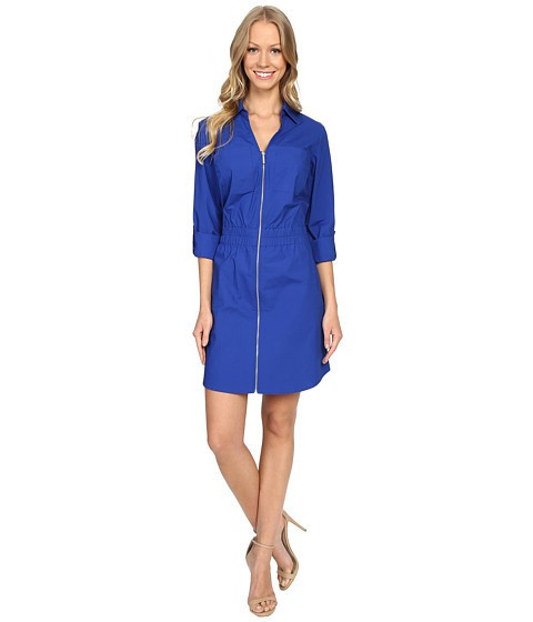 Michael Kors Zip Dring Dress Royal foto mare